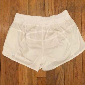 """lululemon athletica Shorts - NWOT - Lululemon White Run Time Short III 4"""""""